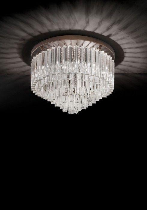 Murano Ceiling Lamps - Series Triedri
