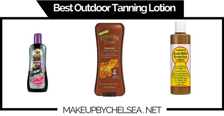 Best Outdoor Tanning Lotion Of 2015