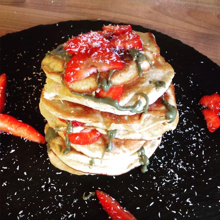 Pancakes mit Pinux