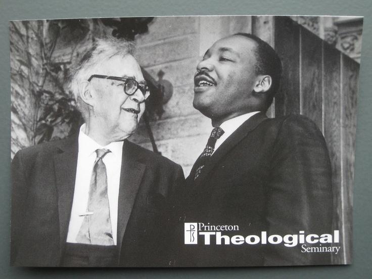 Karl Barth and Martin Luther King, Princeton, 1962