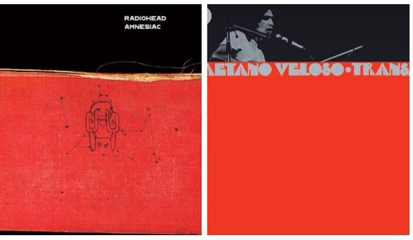 Transa (Caetano Veloso) e Amnesiac (Radiohead)