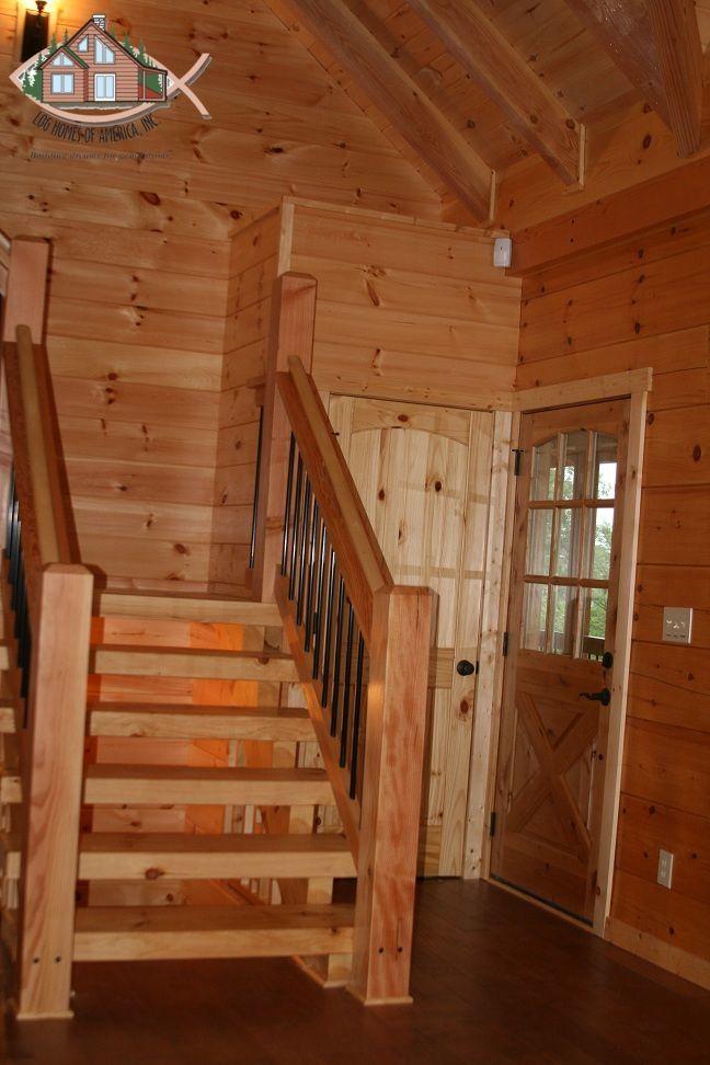 11 Best Staircases Images On Pinterest Log Homes Log