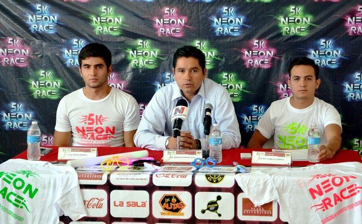 Presentan carrera 5K de Neón Race que se realizará en Aguascalientes ~ Ags Sports