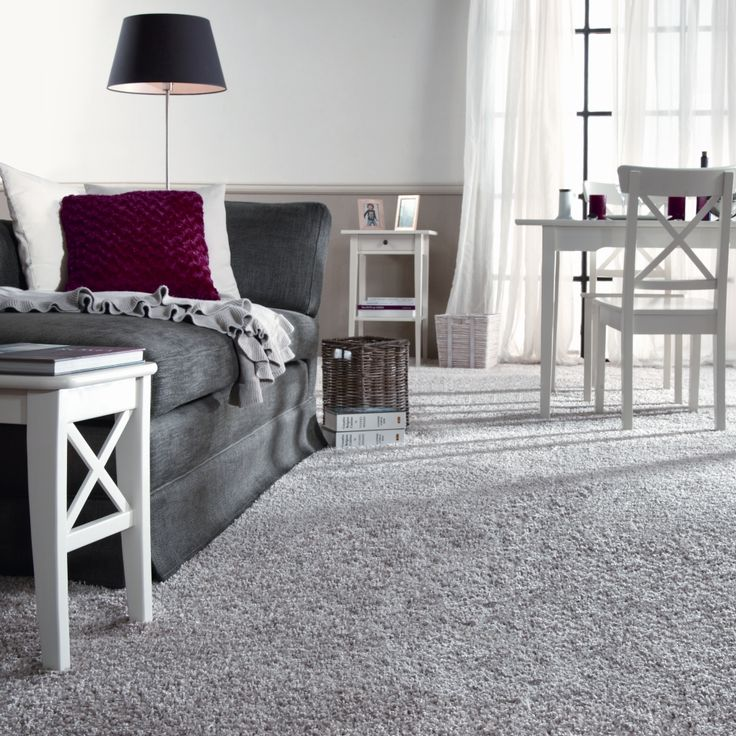 Love The White Furniture Gray Carpet Sheers Touch The