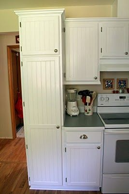 i want to do this to my cabinets cant afford new ones but - Kitchen Cabinets Remodeling