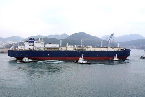 The vessel is the first of 15 specially-designed 170,000m3 Azipod powered LNG carriers built to icebreaking capability of ARC 7, making them most powerful icebreaking LNG carriers in the world. http://gcaptain.com/2016/01/26/first-icebreaking-yamal-lng-carrier-launched-at-dsme/#.Vqg3BVMrKV4