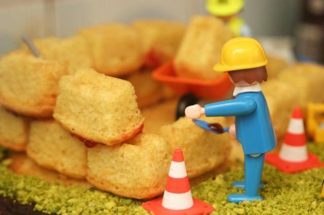 Le gâteau-chantier, Recette de Le gâteau-chantier par Mamandinette - Food Reporter