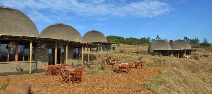 Gondwana Fynbos Camp Located in the Big 5 Gondwana Reserve, this camp is made up luxurious, traditional-style huts. the huts are well furnished and the camp has a swimming pool, bar and conference facilities.