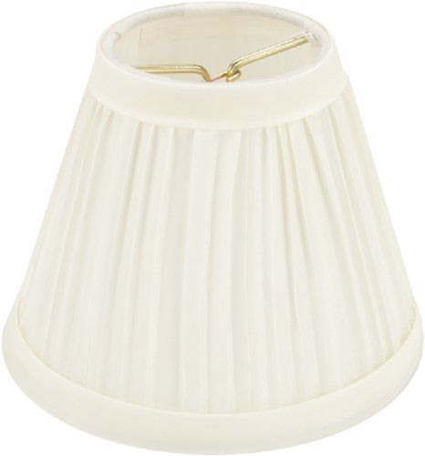 Darice Pleated Cloth Covered Lamp Shade, 2.5-Inch by 4-Inch by 5-Inch, Ivory Darice http://www.amazon.com/dp/B0026HSXZO/ref=cm_sw_r_pi_dp_Z53Bub0X2VADA