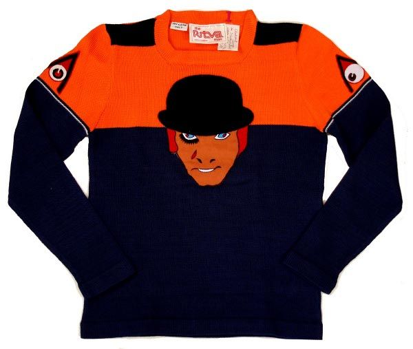 Limited edition Clockwork Orange sweater made in 1972 for cast and crew of the film.