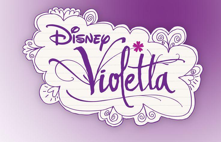 Logo Disney Violetta | Walt Disney | Pinterest | Logos and Disney