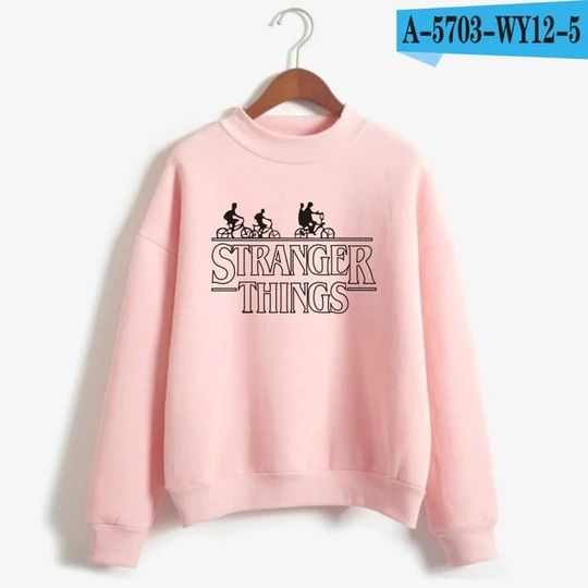 Frdun Tommy American Television Stranger Things Sweatshirt Stranger Things Hoodie Sweatshirt Women Fashion Casual Clothes 1