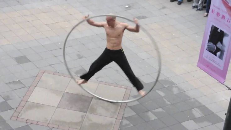 Amazing Taiwan Coolest Street Performer - The Ring Man!!!!!