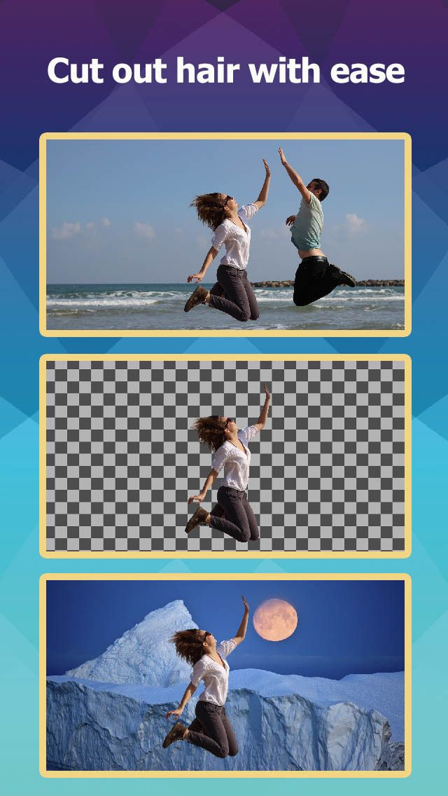 Aftercut : Background Eraser & Powerful Photo Editor with 300  Photo Effects gone Free