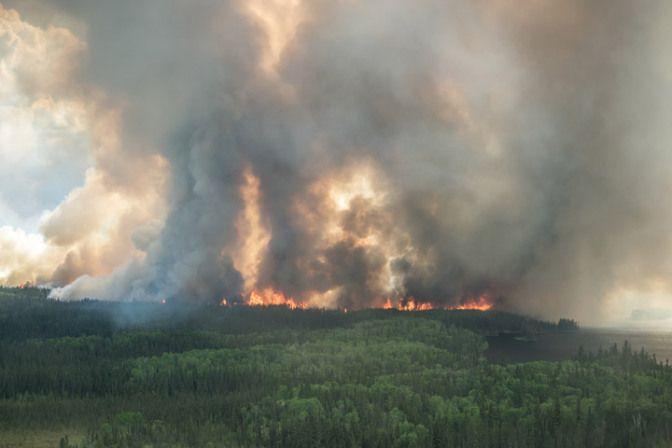 Saskatchewan wildfires 2015