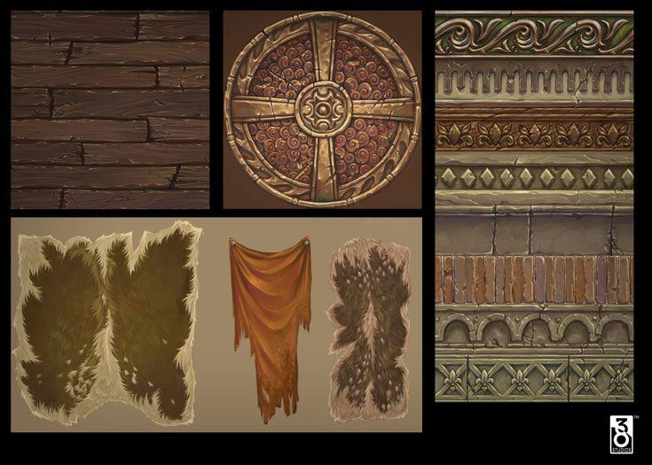 38 Studios Kingdoms of Amalur - Hand Painted Textures , Ethan Scheu on ArtStation at https://www.artstation.com/artwork/8PgqQ
