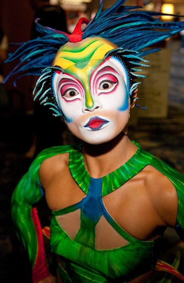Mystère, Cirque du Soleil, maquillaje y vestuario. #Shows #CirqueduSoleil