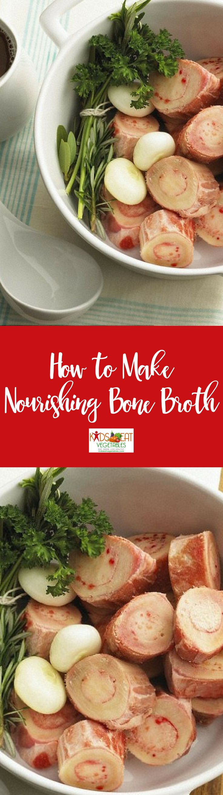 Bone broth is essential to have on hand as we head into cold and flu season. At the first sign of anyone getting sick in our home I will quickly defrost broth and serve either warm in a mug or in a homemade soup or stew. In cases of stomach bugs or vomiting, bone broth often calms the stomach quickly and helps shorten the duration of the illness.