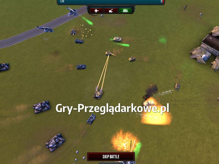 Znakomite walki w zapowiadającej się nieźle strategicznej grze przeglądarkowej pod tytułem Rising Generals