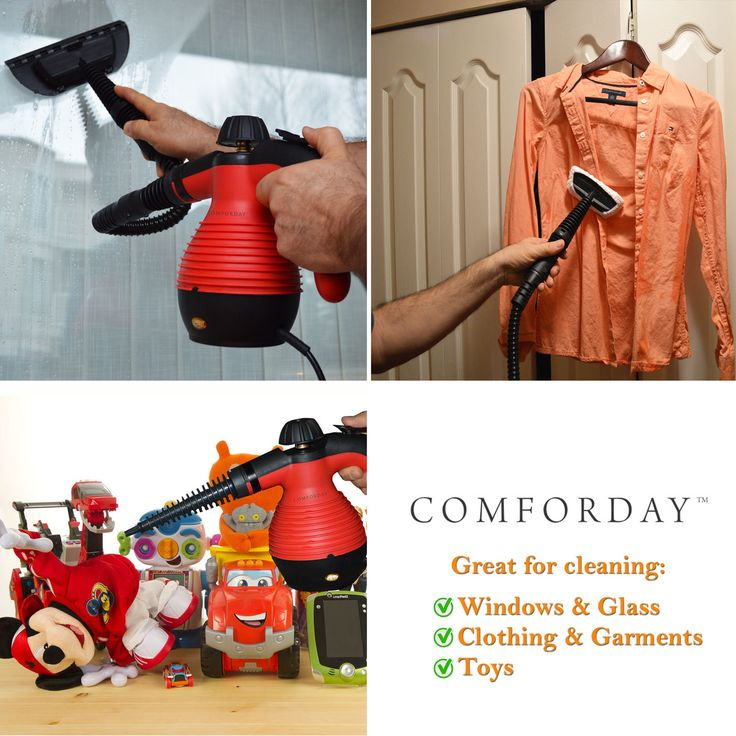 Our Comforday Portable Steamer and Sanitizer is versatile, fit for every corner of your home