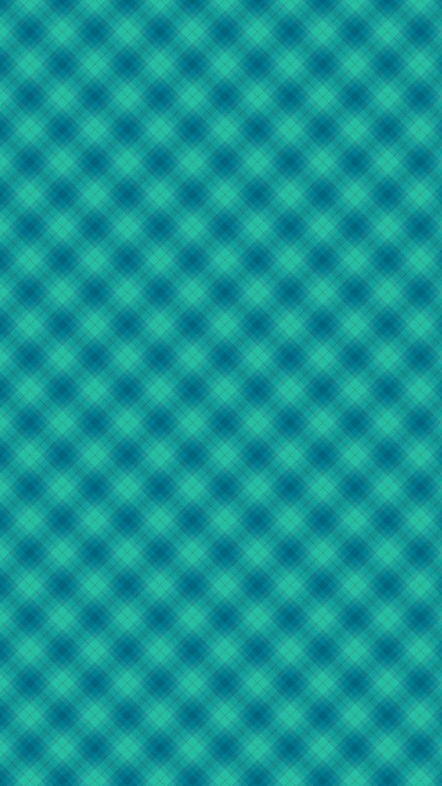plaid teal mobile phone wallpaper - photo #23