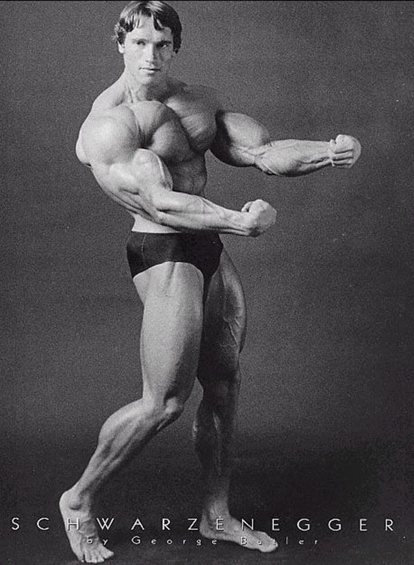 50 Real Arnold Schwarzenegger Bodybuilding Pictures 6
