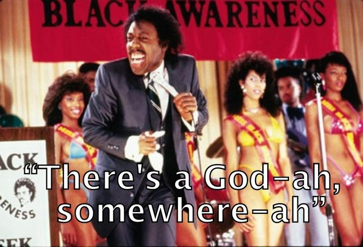 Reverend Brown preaching on 'Coming to America'