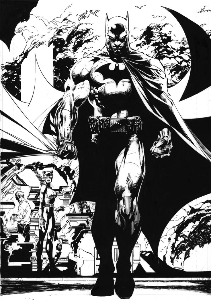 Batmam by Jim Lee