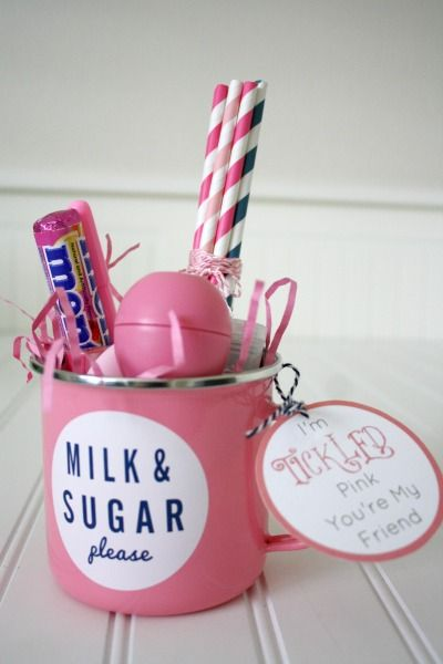 Tickled Pink You're My Friend Gift // Life Anchored