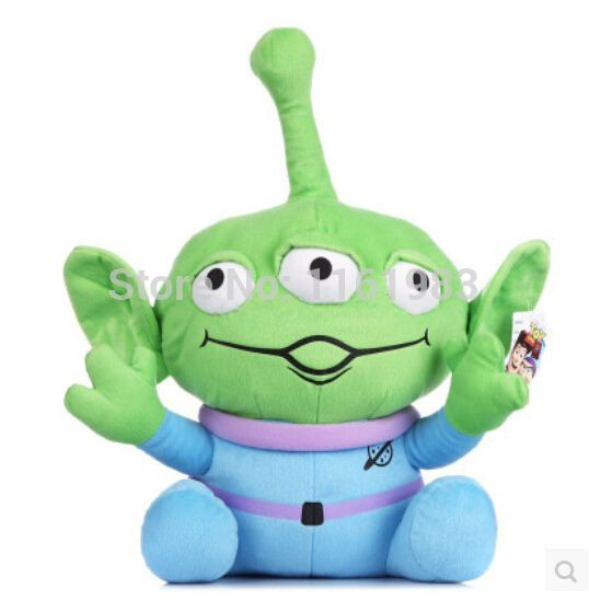==> [Free Shipping] Buy Best Pixar Toy Story Plush Figure Alien Plush Toys 40cm Online with LOWEST Price | 2047117655