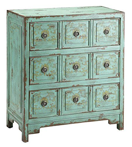 For Stein World Anna Chest And Other Living Room Chests Dressers At Union Furniture In Missouri Lovely Hand Painted Vintage Green