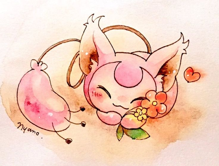 Skitty by Wing_Nyano  ... pokemon, skitty