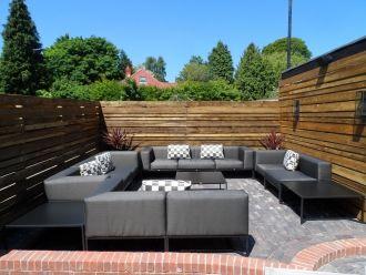 Enjoy the sunshine in our beautiful courtyard garden! - @ 34 Windsor St