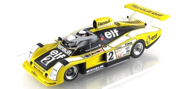 """Renault Alpine A442B Reissue / LE MANS MINIATURES  (PR - LMM – Mars 2017)  Thirteen years after the first production, that was entirely made of polyurethane resin, LE MANS releases an """"evolution"""" version of the Renault Alpine A442B #2 winner LeMans 24 Hours in 1978  we can say this is a new model.  If it is true that th...  http://www.slotcar-today.com/en/notices/2017/03/renault-alpine-a442b-reissue-le-mans-miniatures-6223.php   SlotNerd #wheel"""