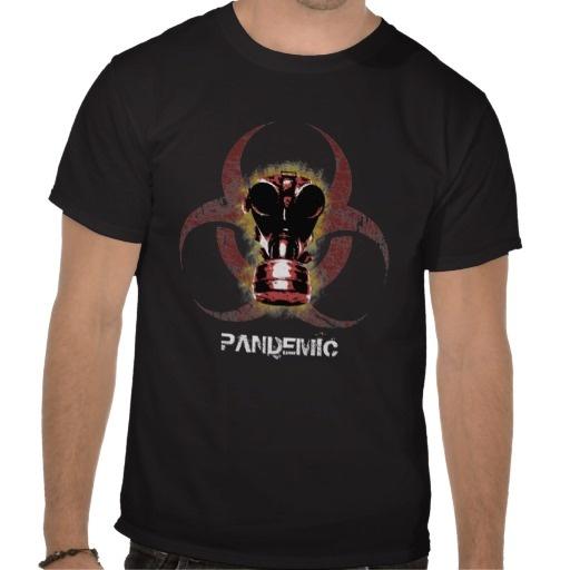 Biohazard Gas Mask Customizable T-Shirt