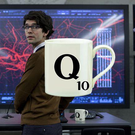 Q's Skyfall Letter Q Scrabble Mug $10.97