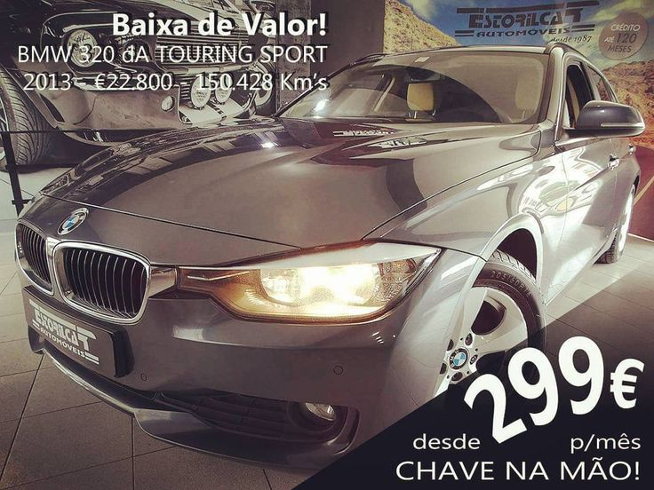BMW 320 dA Touring Sport #estorilcar #estoril #carrinha #bmw #bmw320d #confiança #segurança #qualidade #quality
