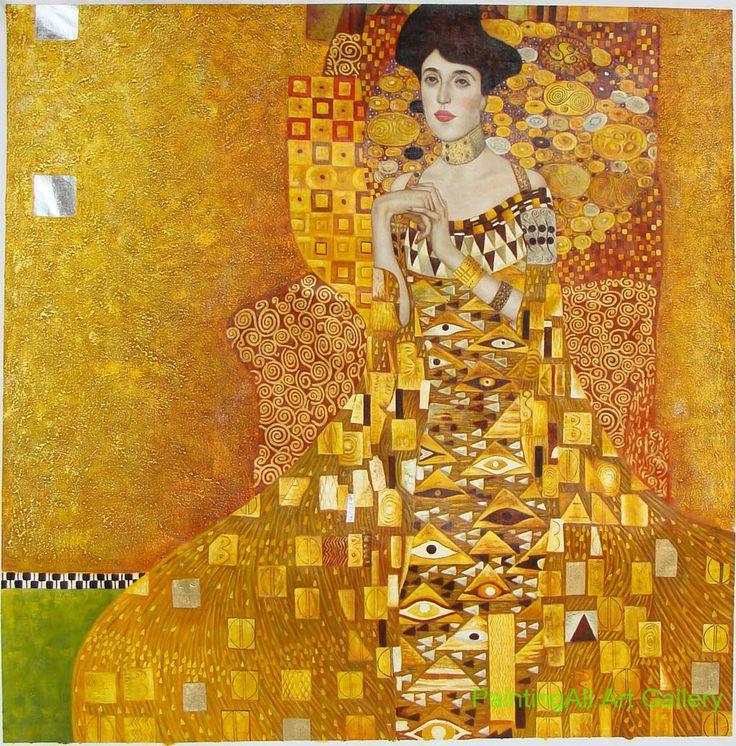 portrait of adele bloch bauer i 1907 by gustav klimt. Black Bedroom Furniture Sets. Home Design Ideas