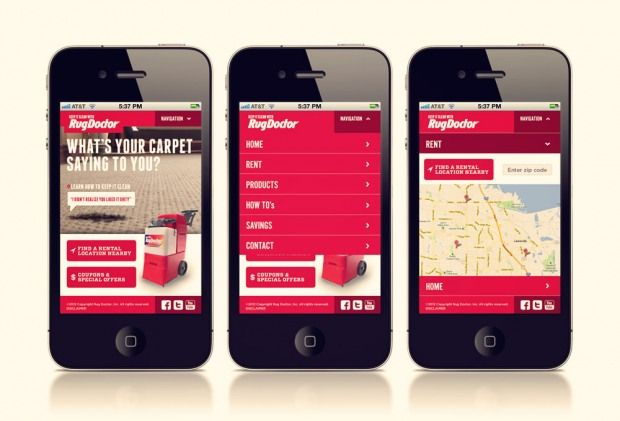 Mobile Web Design: 5 Tips to Improve Usability @medianovak | InspireFirst