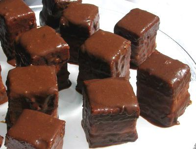 Delicious #morsels that under the cover of #cocoa hide many other delicious surprises ... #Chocolate cubes