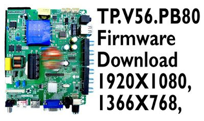 tp v56 pb801 firmware download for 1920X1080, 1366X768, all update