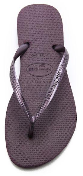 Havaianas slim #purple flip flops http://rstyle.me/n/icdrhr9te