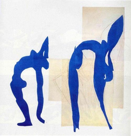 Henri Matisse, Gouache découpée, 1952