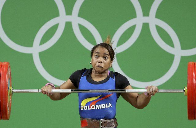 2016 Rio Olympics, Weightlifting, Final, Women's 69kg, Riocentro, Pavilion 2…