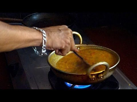 Dhal fry video recipe - Red lentils Northern India style - authentic Indian video recipe filmed in small Indian restaurant in India (source: my personnal food and travel blog / vlog with recipes, authentic video recipes, street food, food and travel documentary, travel info and more. Welcome! :) )