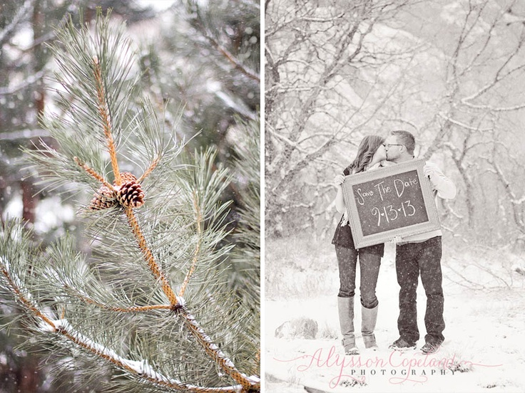 Charlie + Miranda | Winter Wonderland Engagement Session » Alysson Copeland Photography