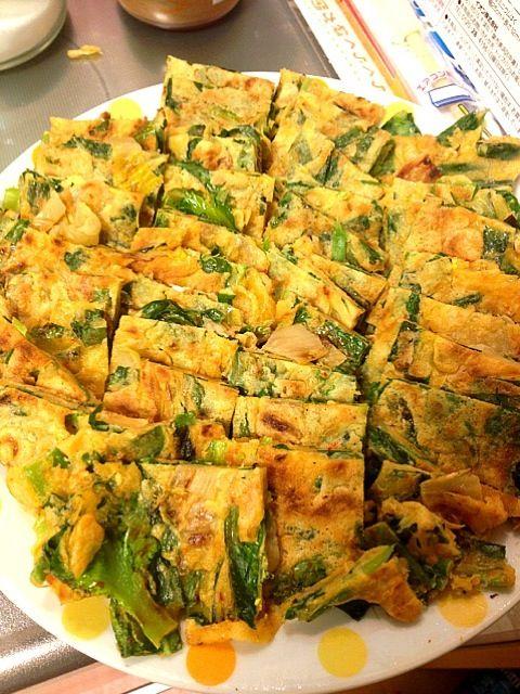 初めて韓国料理に挑戦(*≧艸≦) とても美味しかったよー+゚。*(*´∀`*)*。゚+ - 33件のもぐもぐ - チヂミ by maibokkuri