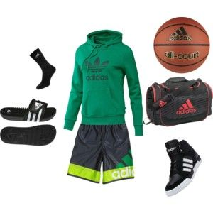Super cute outfit for basketball! Look cute while working hard:)