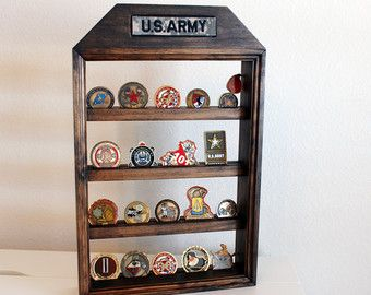 Militar medio Rack de monedas Nametape titular por woodstripes