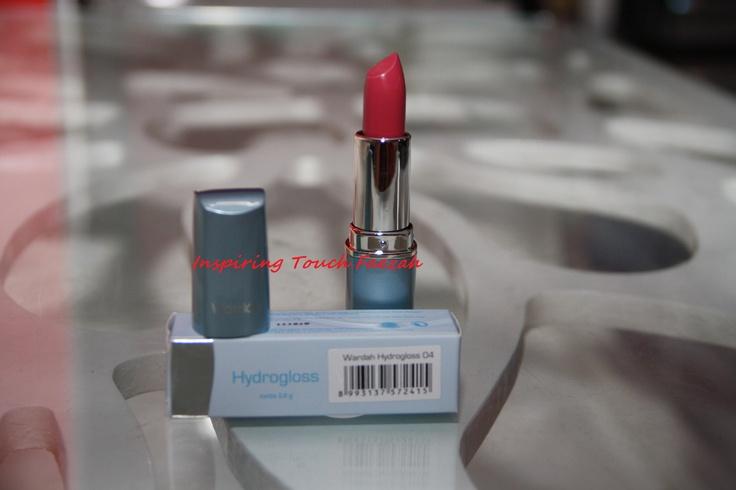 Wardah Cosmetic Hydrogloss Lipstick 04 Glazing Plum